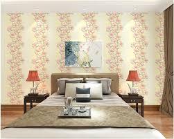 <b>beibehang Fashion</b> Pastoral pink petals wallpaper living room ...
