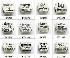 New Lot <b>10pcs</b> Mix <b>Love Word</b> Floating charms For Memory Locket ...