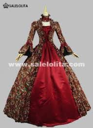 new gothic period masquerade dress holiday marie antoinette prom gown victorian rococo dresses inspired costumes