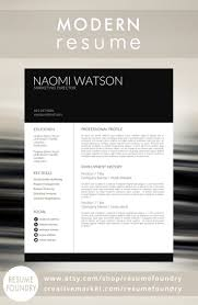 best ideas about modern resume template creative modern resume template