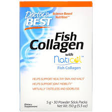 Doctor's Best, <b>Fish Collagen with Naticol</b>, 30 Powder Stick Packs ...