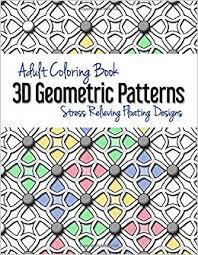 Adult Coloring Book: 3D Geometric Patterns: Stress ... - Amazon.com