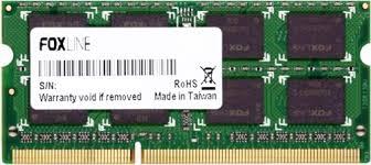<b>Модуль памяти</b> SODIMM DDR3 8GB <b>Foxline</b> FL1600D3S11L-8G ...