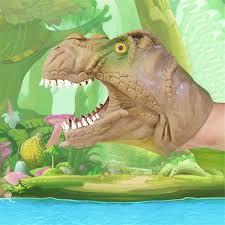 <b>Dinosaur Shape Hand</b> Puppet Model Toys Tyrannosaurus Rex ...
