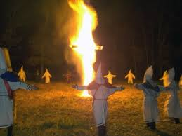 Image result for kkk fire ritual
