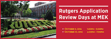 rutgers application review at mek review mek review