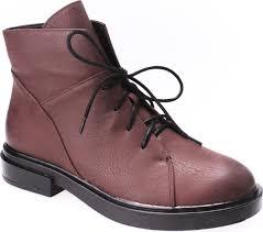 Купить <b>ботинки Spur</b>, цвет: бордовый. Ботинки женские ...