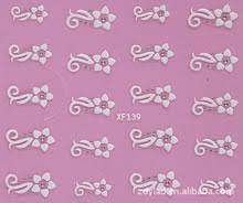 2 Простыни 3D <b>наклейки для ногтей Nail</b> украшения ногтей ...