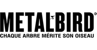 Oiseaux en <b>métal</b> de Metalbird: Metalbird Pour l'extérieur