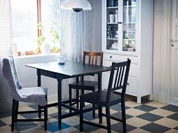 dining room sets ikea: ingatorp black brown drop leaf table seats   with stefan brown
