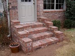 patio steps pea size x: brick steps more  brick steps more