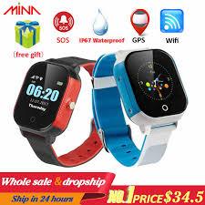 K21 Smart <b>GPS Watch Kids</b> 2019 New IP68 Waterproof SOS Phone ...