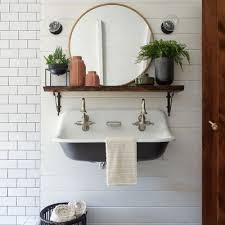 <b>Simple Modern</b> Bathroom With Accent <b>Vases</b> Styled By Leanne Ford ...