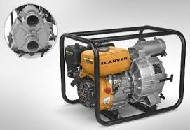<b>Мотопомпа</b> для грязной воды <b>CGP</b> 5580 D 01.022.00005 <b>CARVER</b> ...