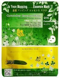 Купить Ja Yeon Mapping <b>тканевая маска</b> Cucumber Essence Mask ...