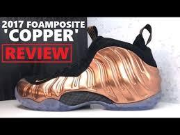 nike foamposite one <b>copper</b> pennny <b>2017 retro</b> sneaker review