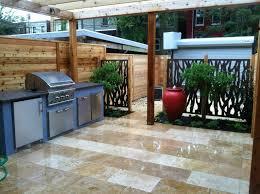 countertop outdoor kitchen pergola