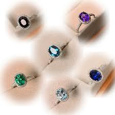 <b>Female Crystal Zircon Stone</b> Ring For Women - xpesos
