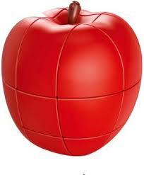 D ETERNAL <b>Fruit Shape Apple</b> Cube Magic <b>Puzzle Toy</b> - <b>Fruit</b> ...