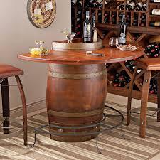 reclaimed wine barrel pub table glass vintage wine barrel bar barrel office barrel middot