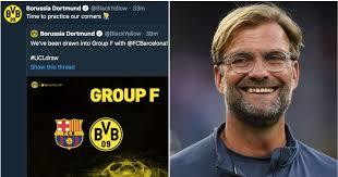 Dortmund tweet