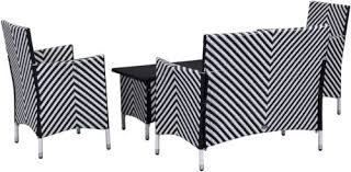 img 2 black and white patio furniture
