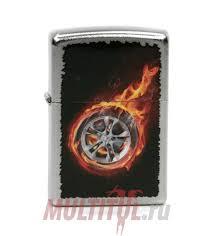 Zippo 205 <b>Tire</b> On Fire — купить оригинальную <b>зажигалку Зиппо</b> ...