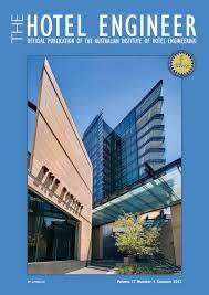 Hotel Engineer 17-4 by Adbourne Publishing - issuu