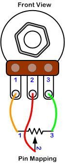 6 pin potentiometer diagram 6 image wiring diagram potentiometer wiring diagram images on 6 pin potentiometer diagram
