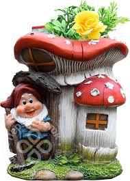 Купить <b>Фигурка садовая Park</b> Гном в грибном домике с доставкой ...