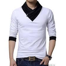 <b>Chic</b> Design Men's <b>Pure</b> Color Bowknot Strappy <b>Long Sleeve</b> Shirt ...