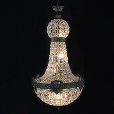 <b>Retro Vintage big round</b> french empire style led E14 crystal ...