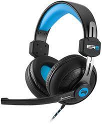 <b>Гарнитура игровая проводная Sharkoon</b> Rush ER2 Blue купить в ...