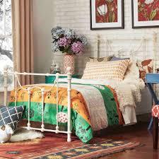 aged bourbon platform bedroom set