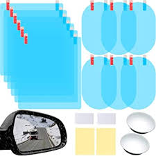16 Pieces Car Rearview Mirror Film Anti Fog Glare ... - Amazon.com