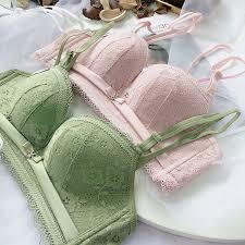 2019 <b>Roseheart Women Fashion Green</b> Pink Lace Bras Bralette ...