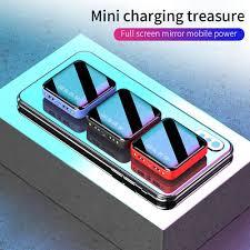 Мини <b>Внешний аккумулятор</b> 10000 мАч для iPhone 10000 мАч ...