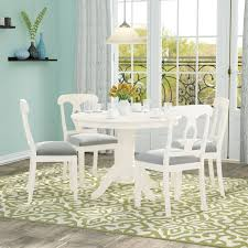 Charlton Home® Adda <b>5 Piece Dining</b> Set & Reviews | Wayfair