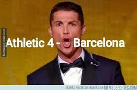 Barcelona: los memes tras caer goleado por el Athletic Bilbao ... via Relatably.com
