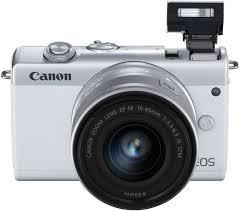 Купить <b>Фотоаппарат CANON EOS M200</b> kit ( 15-45 IS STM), белый ...
