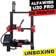 Entry level 3d printer Aalfawise <b>U30 Pro</b> - unboxing and specs ...