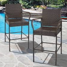 best choice products set of outdoor brown wicker barstool outdoor patio furniture bar stool patio furniture walmart chairs alexandria balcony set high quality patio furniture