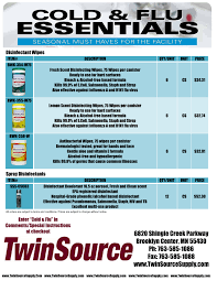 cold flu essentials promotion at twinsource twinsource cold flu essentials 14 15 disinfectants