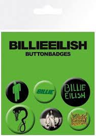 Купить «<b>Набор значков</b> BILLIE EILISH Mix (Bravado)» по цене 350 ...