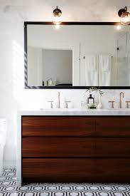 walnut bathroom vanity modern ridge: because who wouldnt want an all marble bathroom counter and backsplash wall this bathroom just oozes sophistication from the simple overhead barbershop