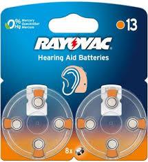 <b>Батарейки Varta Rayovac</b> Acoustic <b>Type</b> 13 PR48 8 шт ...