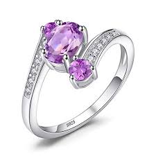 JewelryPalace <b>925 Sterling Silver Natural</b> Citrine Amethyst Blue ...