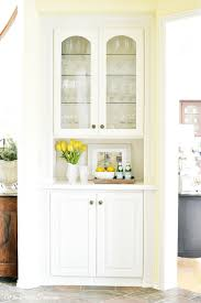 cabinet makeovers makeover this built in china cabinet makeover shows that a piece can go from dr
