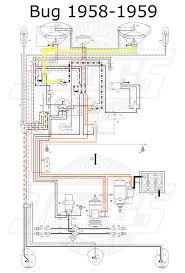 vw type 1 wiring diagram vw image wiring diagram vw tech article 1958 59 wiring diagram on vw type 1 wiring diagram
