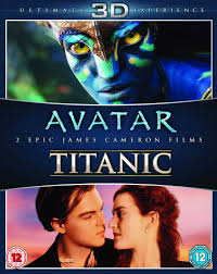 com james cameron s avatar titanic blu ray d double com james cameron s avatar titanic blu ray 3d double pack kate winslet leonardo dicapreo james cameron movies tv